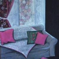 Le canapé gris