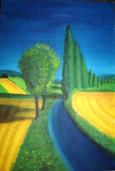 La route bleu