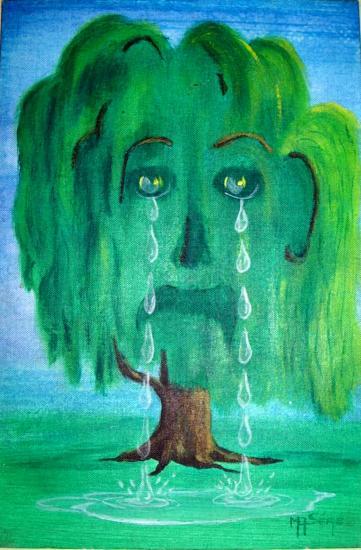 Le saule pleureur
