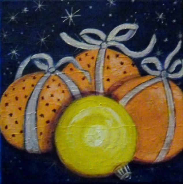 les oranges de noël