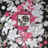 Collage rose - vendu