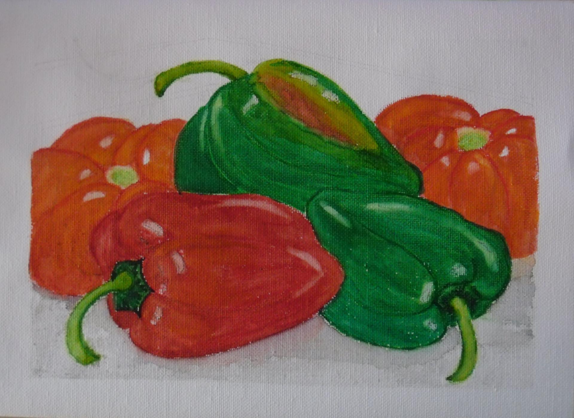 Poivrons et tomates