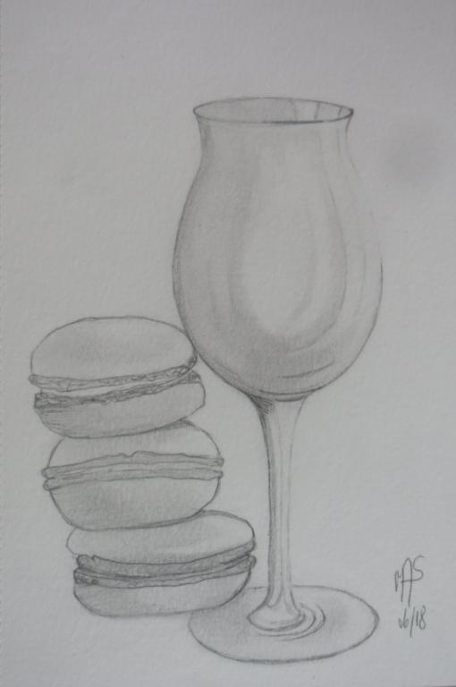 macarons en équilibres